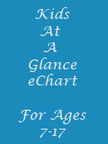 At A Glance eChart for Kids